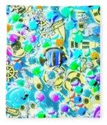 Adventures On Icon Reef Fleece Blanket