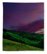 After The Storm Afterglow Fleece Blanket