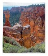 Agua Canyon - Bryce Canyon - Utah Fleece Blanket
