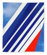 Air France 777 1 Fleece Blanket