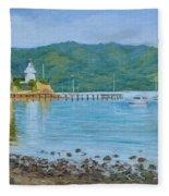 Akaroa Yacht Club Fleece Blanket