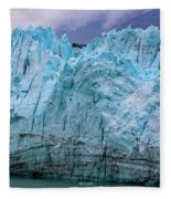 Alaskan Blue Glacier Ice Fleece Blanket