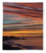 All Saints Day Sunrise Fleece Blanket