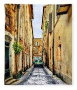 Alley In Avignon Fleece Blanket