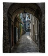 Alleys Of San Marino Fleece Blanket