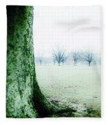 Alone But Not Abandoned Fleece Blanket