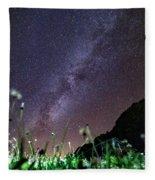 Alpine Milky Way Fleece Blanket