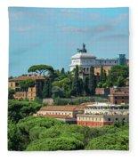 Altare Della Patria Fleece Blanket