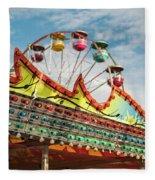 Amusement Park Fun Fleece Blanket