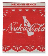 An Ice Cold Nuka Cola - Fallout Universe Fleece Blanket