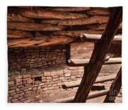 Anasazi Home Fleece Blanket