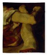 Anatomical Pieces Fleece Blanket
