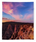 Ancient Guardians Fleece Blanket by Rick Furmanek