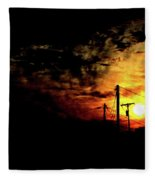 And On The Eighth Day Fleece Blanket