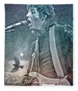 And You'll Be A Bluebird Too Fleece Blanket