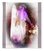 Angel Ethereal Fleece Blanket