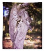 Angel Linen Fleece Blanket