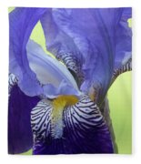Angie's Iris Fleece Blanket