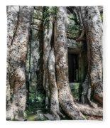 Angkor Roots Fleece Blanket