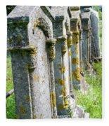 Annapolis Royal Gravestones Fleece Blanket