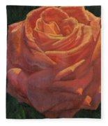 Anniversary Rose Fleece Blanket