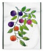 Apricots Fleece Blanket