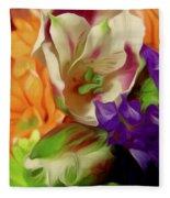 April Memories Fleece Blanket