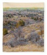April Prairie Reverie Fleece Blanket