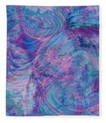 Aqueous Meditations #01 Fleece Blanket