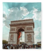 Arc De Triomphe - World Cup 2018 Fleece Blanket