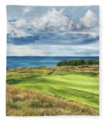 Arcadia Bluffs Fleece Blanket