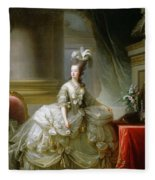 Archduchess Marie Antoinette  Fleece Blanket