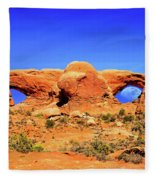 Arches Moon Eye Fleece Blanket