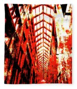Architecture Interior 2 Fleece Blanket