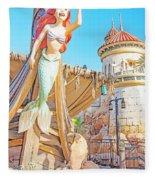 Ariel, The Little Mermaid, Walt Disney World Fleece Blanket