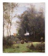 Arleux-palluel The Bridge Of Trysts Fleece Blanket