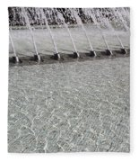 Arthur J. Will Memorial Fountain At Grand Park Fleece Blanket