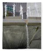 Arthur J. Will Memorial Fountain Fleece Blanket