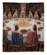 Arthurian Legend, The Knights Of The Round Table Fleece Blanket