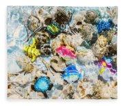 Artificial Aquarium  Fleece Blanket