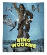King Wookiee Fleece Blanket by Eric Fan
