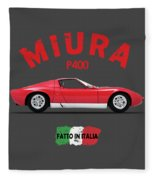 Miura 69 Fleece Blanket by Mark Rogan