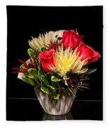 Friendship Bouquet Fleece Blanket