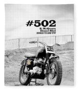No 502 Mcqueen Desert Sled Fleece Blanket