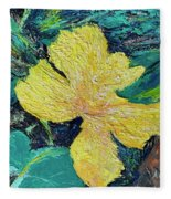 Dancing Flower Fleece Blanket