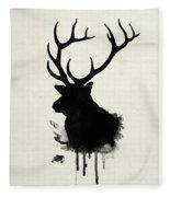 Elk Fleece Blanket