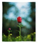 Aspecial Flower  Fleece Blanket