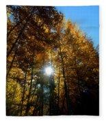 Aspens Sunlight 2 Fleece Blanket