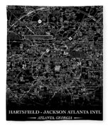 Atlanta Sectional Fleece Blanket