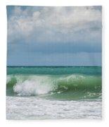 Atlantic Ocean Fleece Blanket